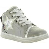 Zapatos Niña Botas de caña baja Lois Jeans 46019 Plateado