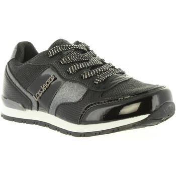 Zapatos Niña Zapatillas bajas Lois Jeans 83847 Negro