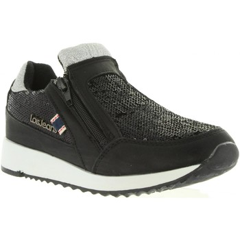 Zapatos Niña Zapatillas bajas Lois Jeans 83851 Negro