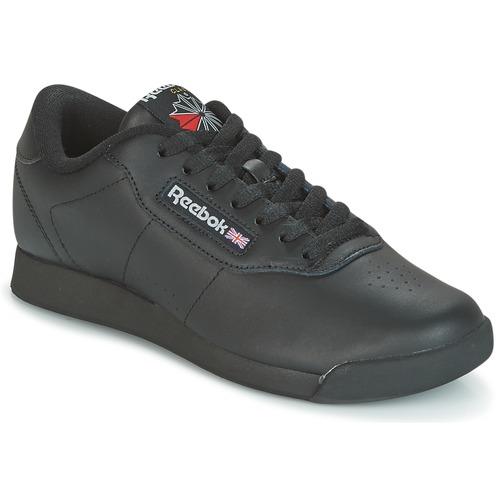 Mujer Zapatillas Reebok Zapatos Negro Classic Bajas Princess 8nX0OPNkw
