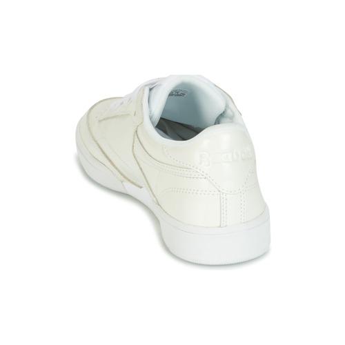 Cómodo y bien parecido Zapatos especiales Reebok Classic CLUB C 85 PATENT Blanco