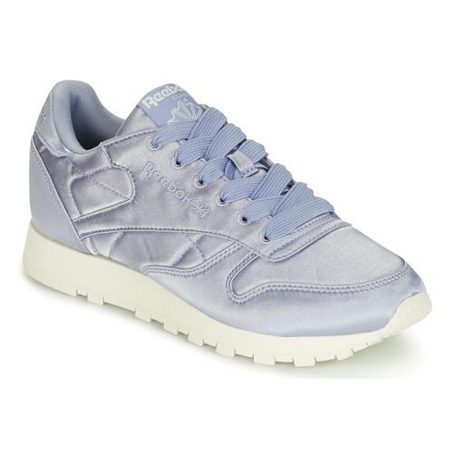 ZapatosReebok Classic CLASSIC Zapatos LEATHER SATIN Violeta  Zapatos CLASSIC de mujer baratos zapatos de mujer ead36b