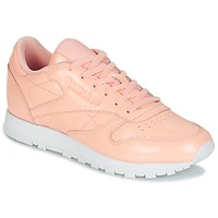 Zapatos Mujer Zapatillas bajas Reebok Classic CLASSIC LEATHER PATENT Rosa