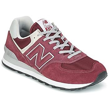Zapatos Zapatillas bajas New Balance ML574 Burdeo