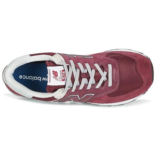 Zapatillas New Balance Burdeo Zapatos Bajas Ml574 E2HWD9I