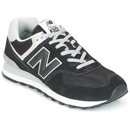 Zapatos especiales para hombres y Negro mujeres New Balance ML574 Negro y fbaf0e