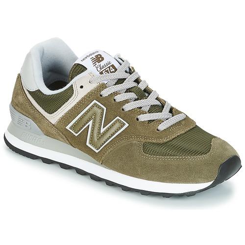 Zapatos especiales para hombres y mujeres New Balance ML574 Oliva