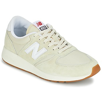 Zapatos Mujer Zapatillas bajas New Balance WRL420 Beige