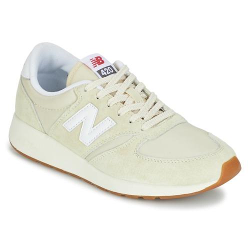 Zapatos promocionales New Balance WRL420 Beige  Venta de liquidación de temporada