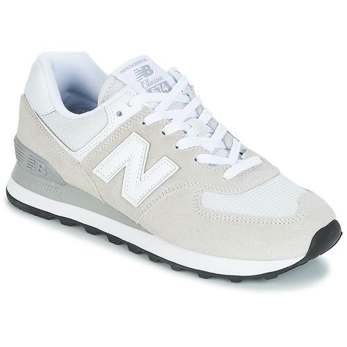 Zapatos promocionales New Balance WL574 Blanco  Cómodo y bien parecido