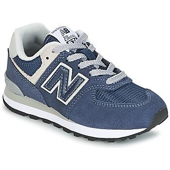 Zapatos Niños Zapatillas bajas New Balance 574 Marino