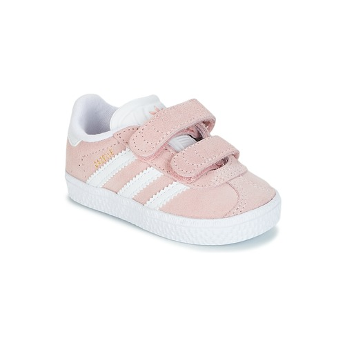 new product c3a28 cf0c9 Zapatos Niña Zapatillas bajas adidas Originals GAZELLE CF I Rosa