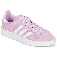 Zapatos Niña Zapatillas bajas adidas Originals CAMPUS J Rosa