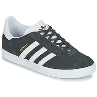 Zapatos Niños Zapatillas bajas adidas Originals GAZELLE J Gris