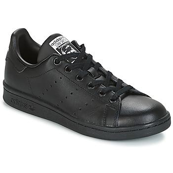 Zapatos Niños Zapatillas bajas adidas Originals STAN SMITH J Negro