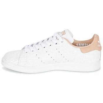 adidas Originals STAN SMITH W Blanco / Rosa