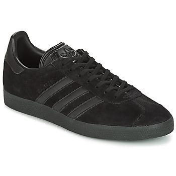 Zapatos Hombre Zapatillas bajas adidas Originals GAZELLE Negro