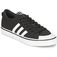 Zapatos Hombre Zapatillas bajas adidas Originals NIZZA Negro