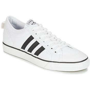 Zapatos Zapatillas bajas adidas Originals NIZZA Blanco