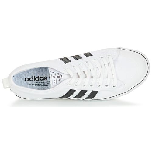 Blanco Nizza Bajas Zapatos Originals Zapatillas Adidas uTOZPkXi
