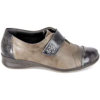 Zapatos Mujer Derbie Boissy Derby 7510 Noir Marrón