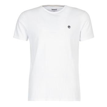 textil Hombre camisetas manga corta Timberland SS DUNSTAN RIVER CREW TEE Blanco