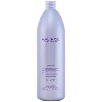 Belleza Champú Farmavita Amethyste Silver Shampoo  1000 ml