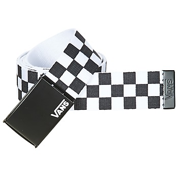 Accesorios textil Hombre Cinturones Vans DEPPSTER II Negro / Blanco