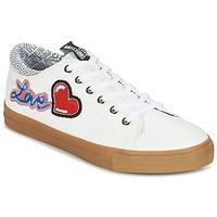 Zapatos Mujer Zapatillas bajas Love Moschino JA15213G15 Blanco