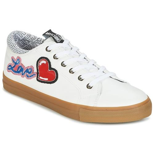 Casual salvaje Love Moschino JA15213G15 Blanco - Envío gratis Nueva promoción - Zapatos Deportivas bajas Mujer  Blanco