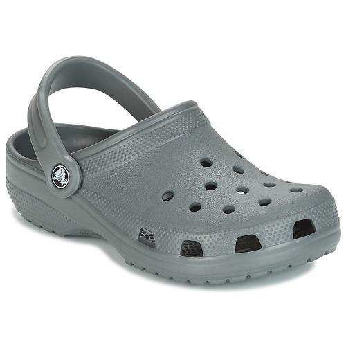 Zapatos Zuecos (Clogs) Crocs CLASSIC Gris