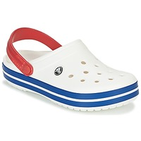 Zapatos Zuecos (Clogs) Crocs CROCBAND Blanco / Azul / Rojo