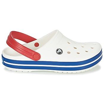 Crocs CROCBAND Blanco / Azul / Rojo