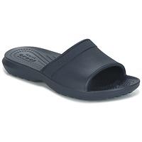 Zapatos Niños Chanclas Crocs CLASSIC SLIDE K Marino