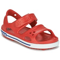 Zapatos Niños Sandalias Crocs CROCBAND II SANDAL PS Rojo