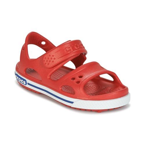 Zapatos Niño Sandalias Crocs CROCBAND II SANDAL PS Rojo