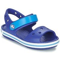 Zapatos Niño Sandalias Crocs CROCBAND SANDAL KIDS Azul