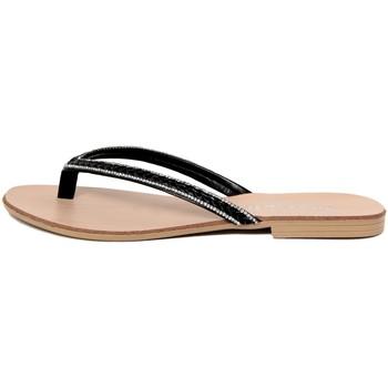 Zapatos Mujer Chanclas Mariella  Nero