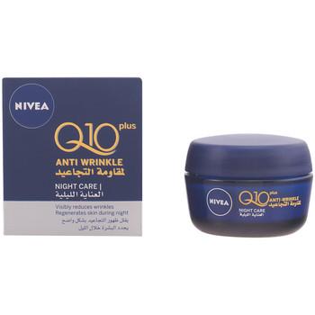 Belleza Mujer Hidratantes & nutritivos Nivea Q10+ Anti-arrugas Noche