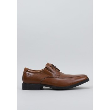 Zapatos Hombre Derbie Clarks Tilden Walk Marrón