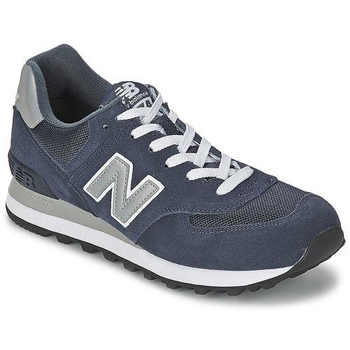 Zapatos especiales para hombres y mujeres New Balance M574 Marino