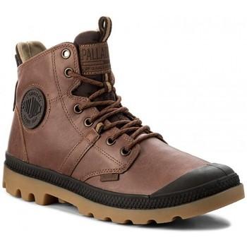 Zapatos Hombre Botas de caña baja Palladium Botas Pallaguide Marrón