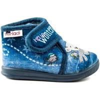 Zapatos Niña Pantuflas Vulladi PEK HELLO AZUL