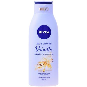 Belleza Hidratantes & nutritivos Nivea Aceite En Locion Vainilla & Almendras  400 ml