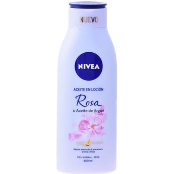 Belleza Hidratantes & nutritivos Nivea Aceite En Locion Rosa & Argan