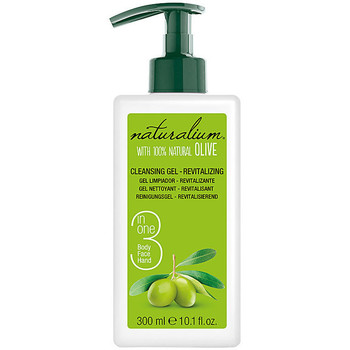 Belleza Productos baño Naturalium Oliva 100% Cleasing Gel Revitalizing  300 ml