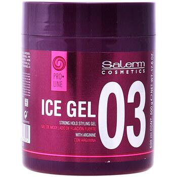 Belleza Acondicionador Salerm Ice Gel Strong Hold Styling Gel