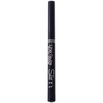 Belleza Mujer Eyeliner Gotas Frescas Eyeliner Feutre Slim 16-black  0,8 ml