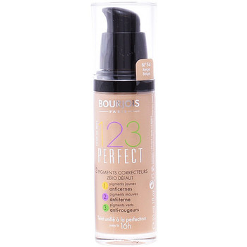 Belleza Mujer Base de maquillaje Bourjois 123 Perfect Liquid Foundation 54-beige  30 ml
