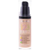Belleza Mujer Base de maquillaje Bourjois 123 Perfect Liquid Foundation 55-dark Beige  30 ml
